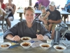 being a chili cook-off judge is tough work--tough, but delicious.