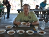 Mayor Corey Napier samples lots of savory chilis