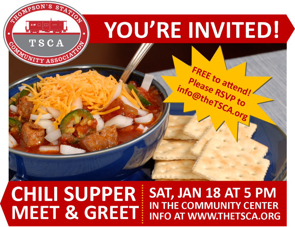 TSCA Chili Meet and Greet 2014
